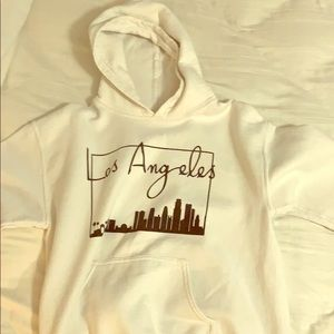 los angeles sweat shirt with city!